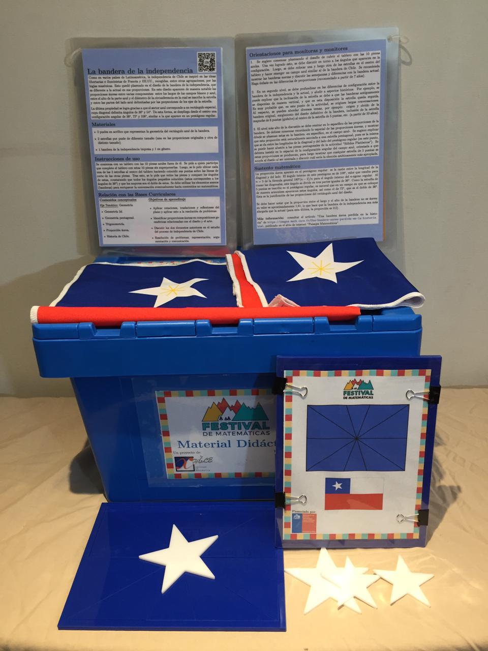 Foto kit de la Bandera de Chile
